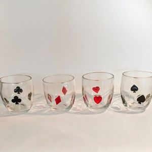 Other - Set of playing card tumblers